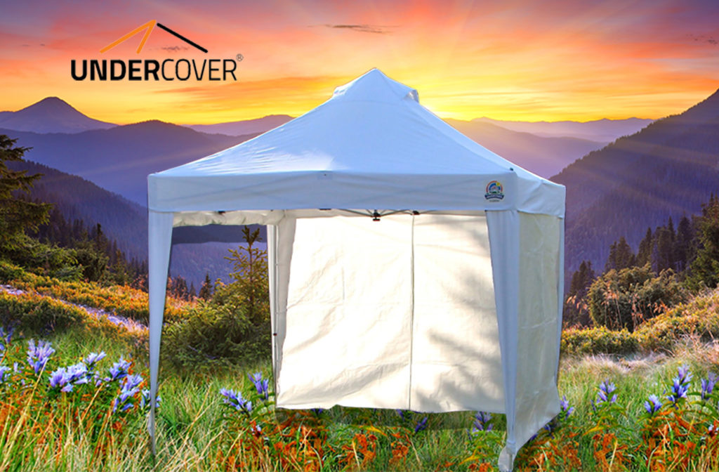 X3 10 X10 Commercial Vending Instant Canopy Popup Shade